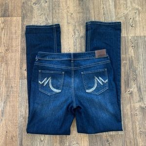 Maurices Dark Washed Bootcut Jeans Size 11/12 LONG